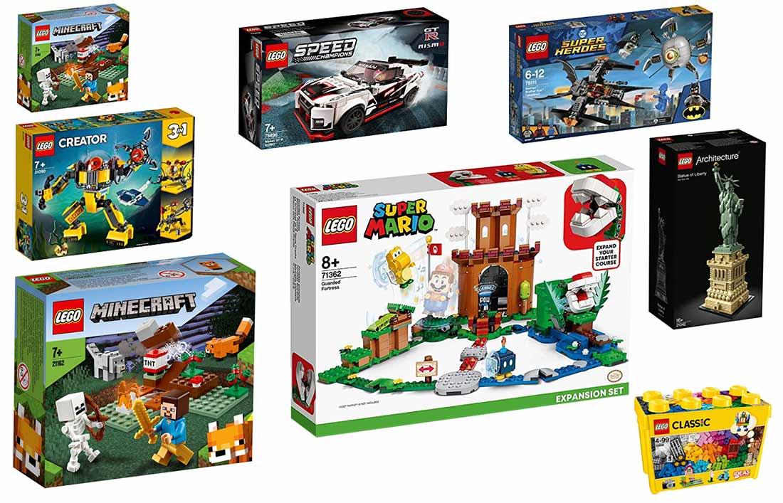 Die besten LEGO-Themenwelten