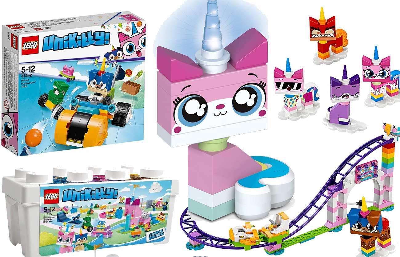 LEGO Unikitty Figuren und Spielesets