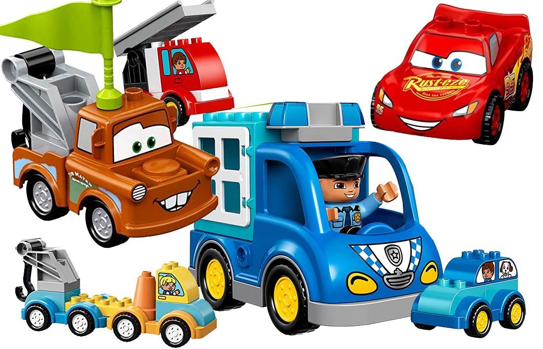 LEGO Duplo Autos und Anhänger