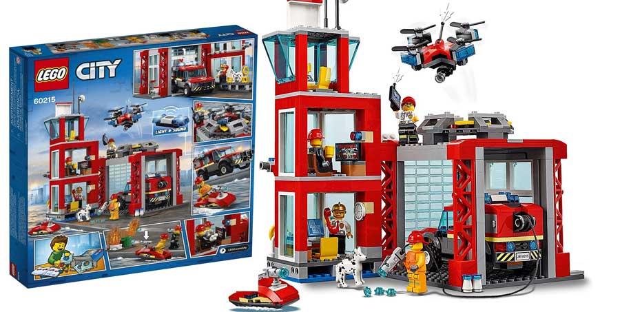 Lego City Feuerwehr-Station ab 5 Jahre