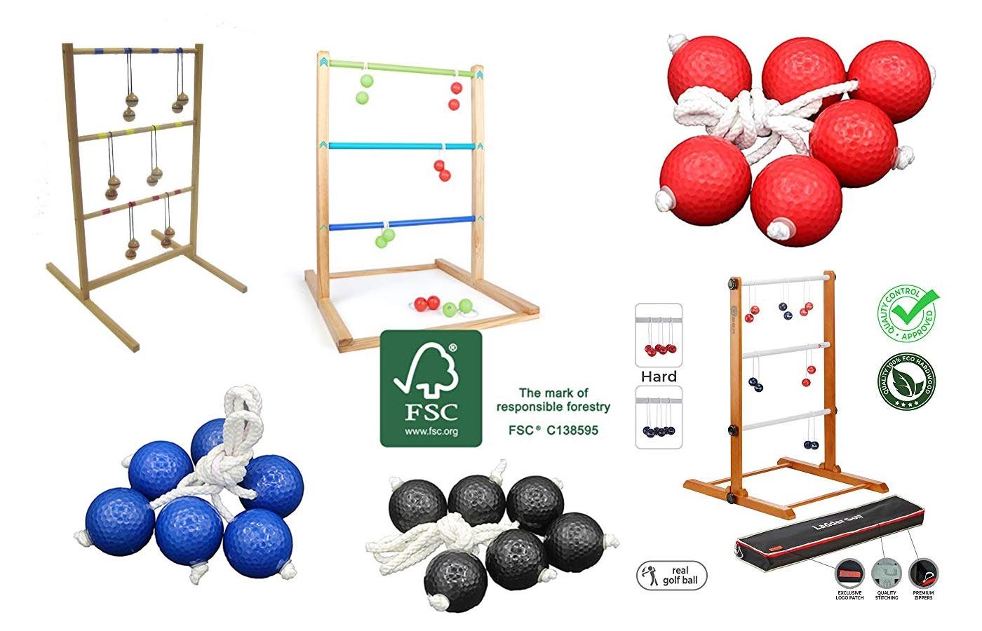 Leitergolf Spiele für Kinder