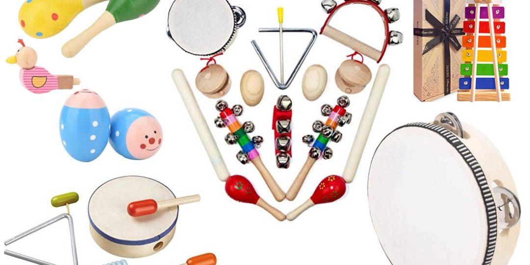 Musikinstrumente für Kinder ab 2 Jahren