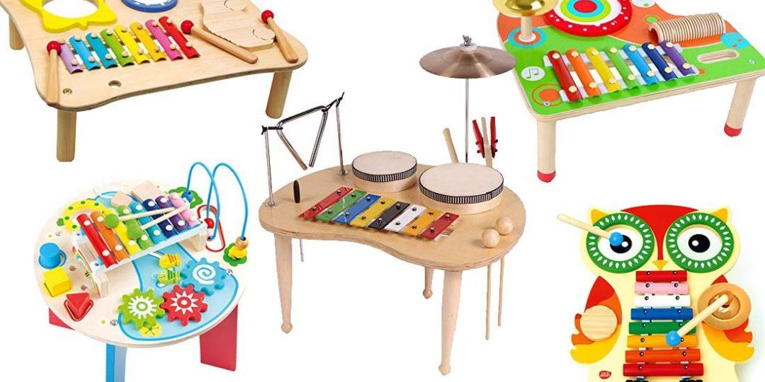 Musiktische aus Holz