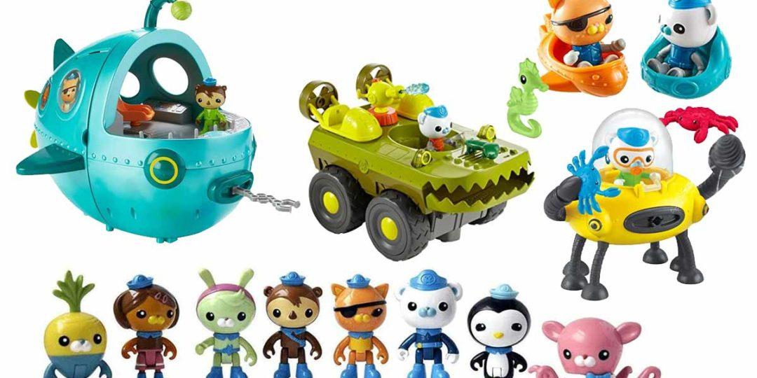 Oktonauten-Spielzeug