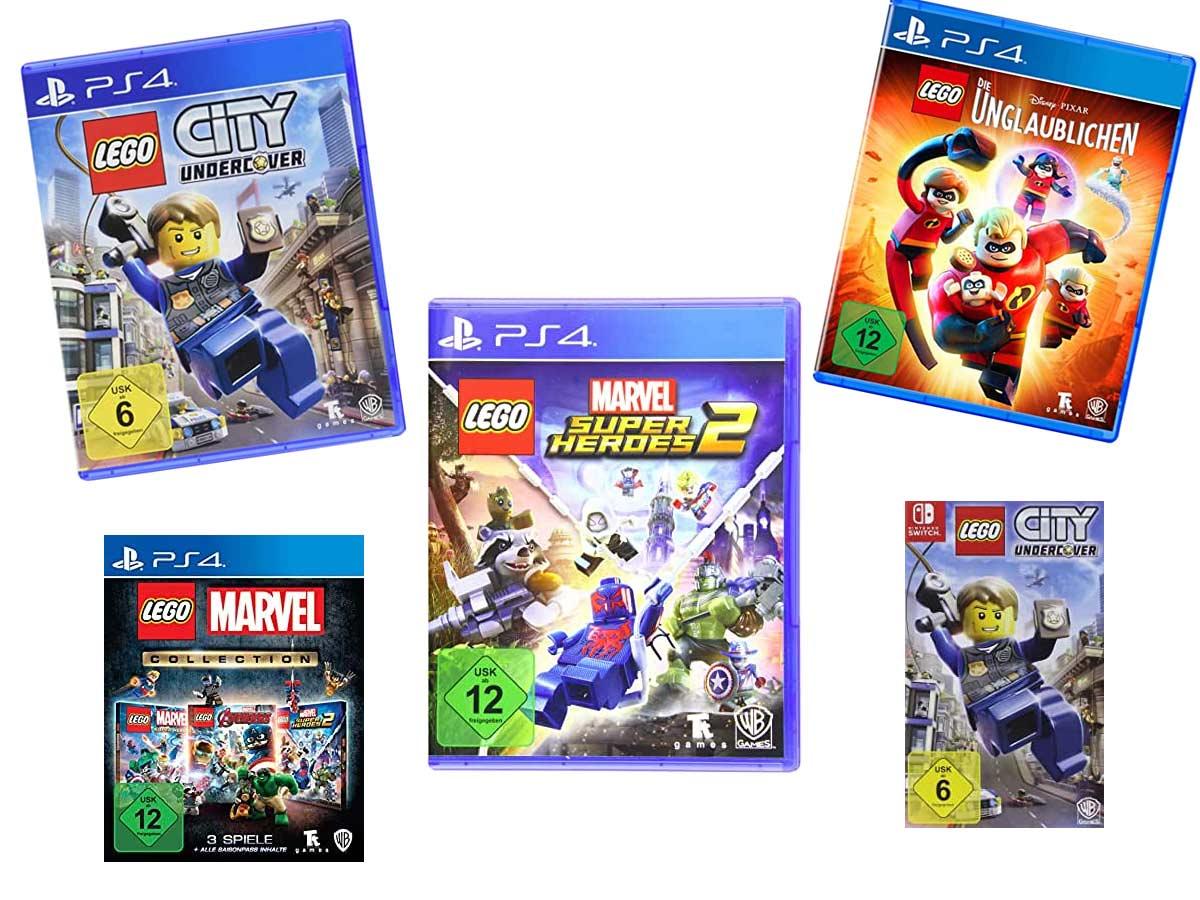 Die 4 besten PS4 Lego Spiele