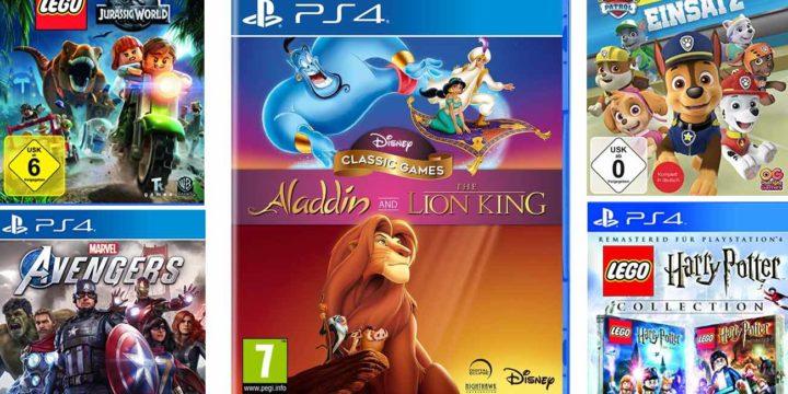 PS4 Spiele für Kinder