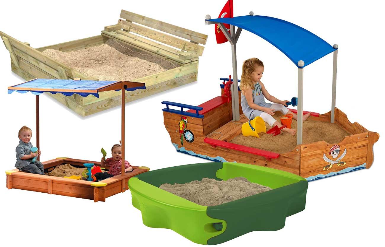 Sandkasten für Kinder