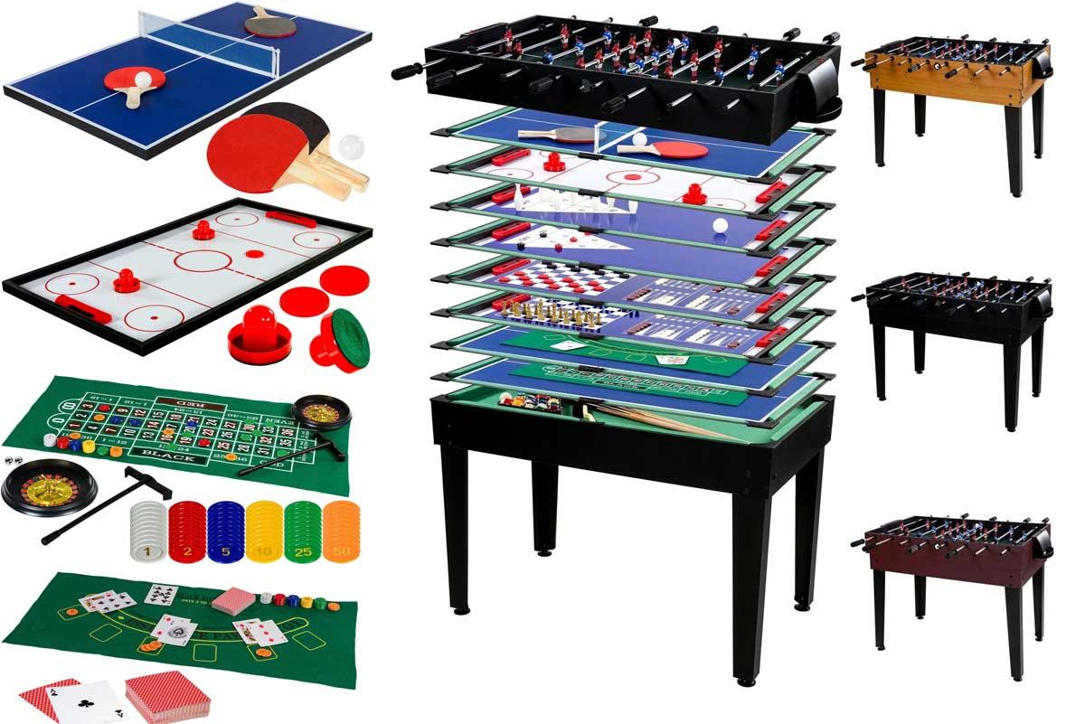 Spieletisch und Multifunktionsspieltische