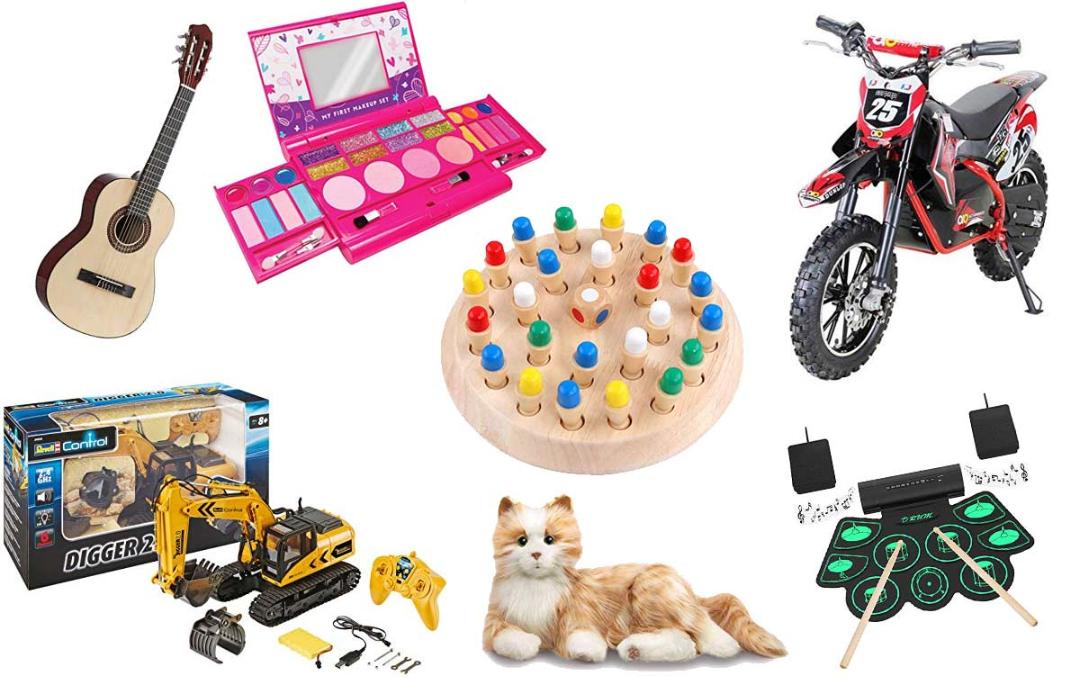 Die 40 besten Spielzeuge für 10 jährige Jungen und Mädchen