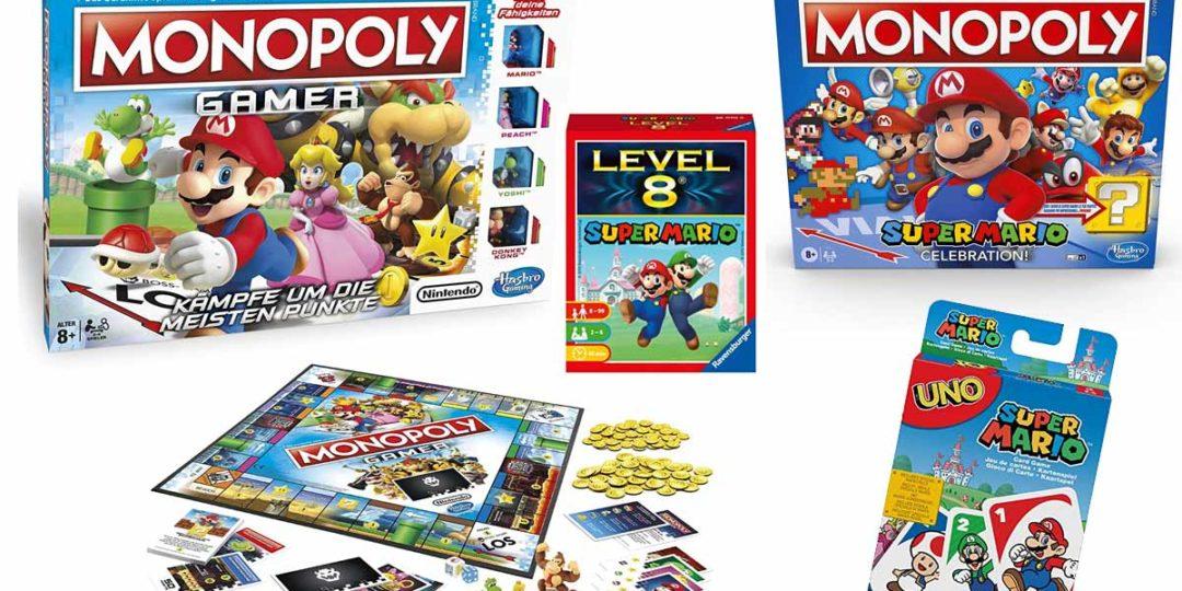 Empfohlene Super Mario Gesellschaftsspiele