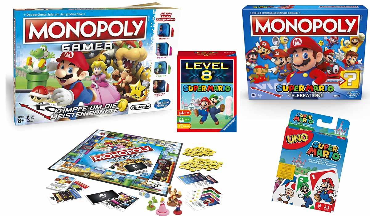 Die beliebtesten Super Mario Gesellschaftsspiele