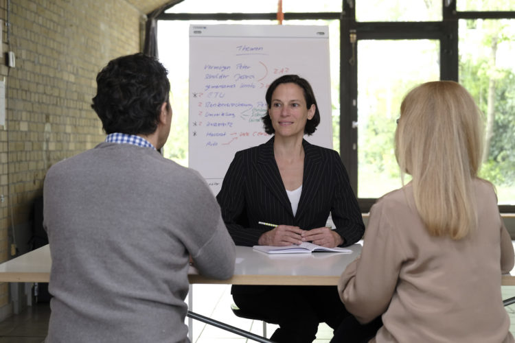 Trennungsgespräch mit einem Elternpaar, Praxis Dr. Isabell Lütkehaus