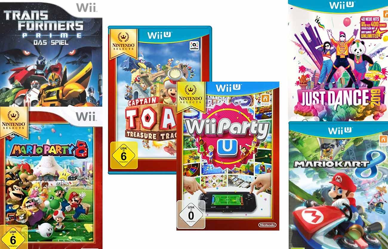 Wii Spiele für Kinder