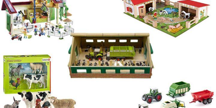 Bauernhof-Spielsachen