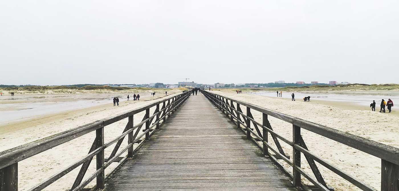St. Peter Ording Strand Nordsee