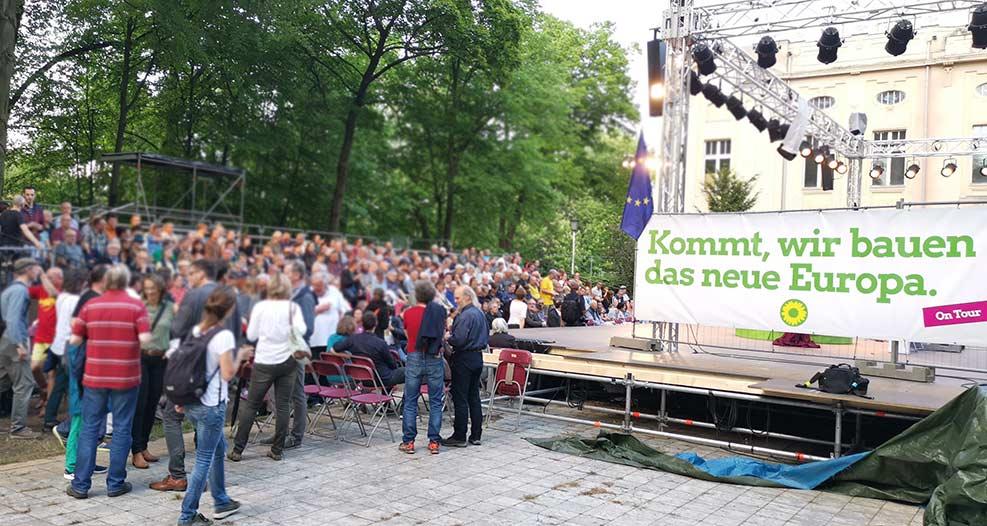 Veranstaltung der Grünen mit Robert Habeck in Görlitz