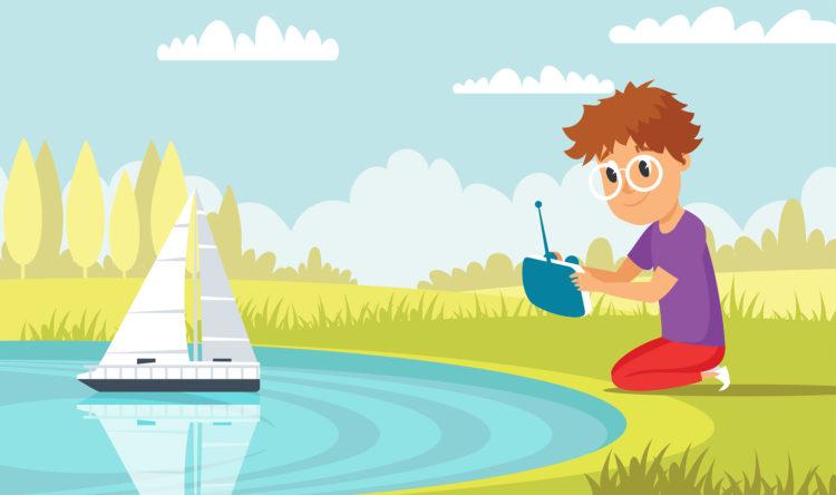Ferngesteuerte Boote für Kinder Copyright: ClassicVector, bigstockphoto