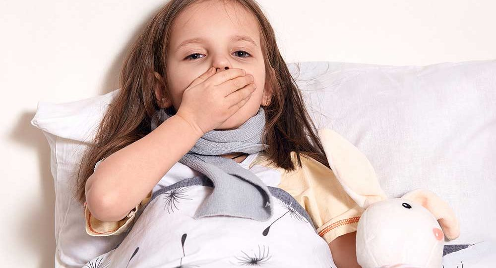 Halsschmerz bei Kindern