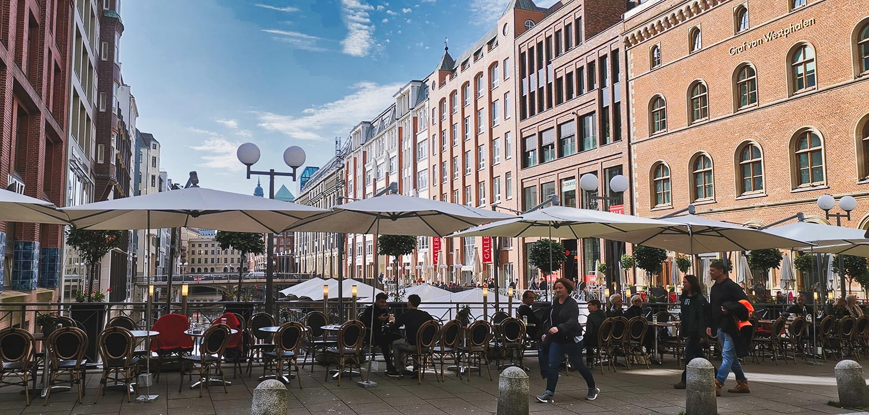 Alsterarkaden Hamburg entdecken