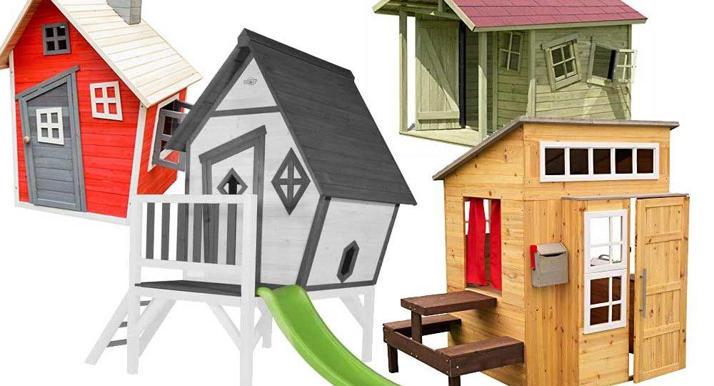 Holz Spielhaus