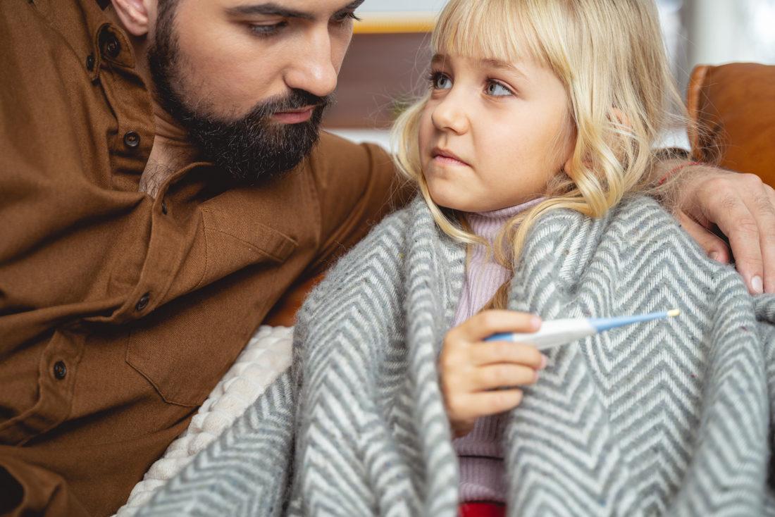 Krankschreibung Vater wegen dem Kind