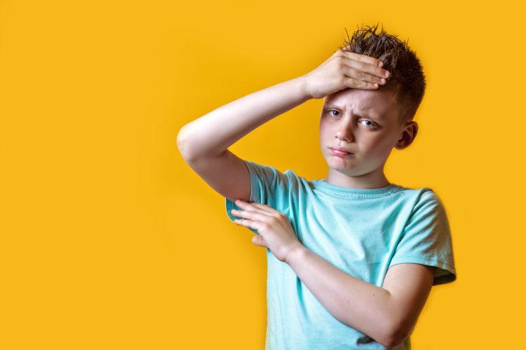 Kreislaufprobleme in der Pubertät sind bei Jungen