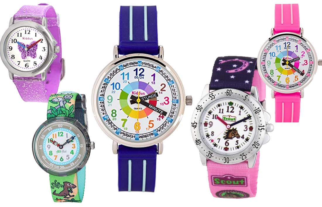 Lern Armbanduhren für Kinder