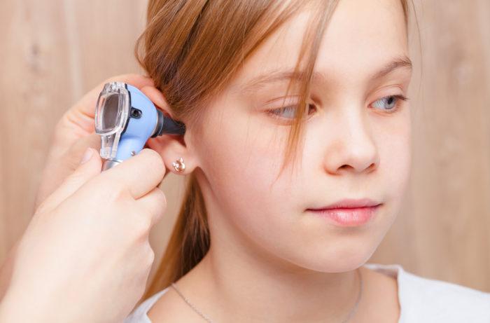 Ohrengeräusche beim Kind