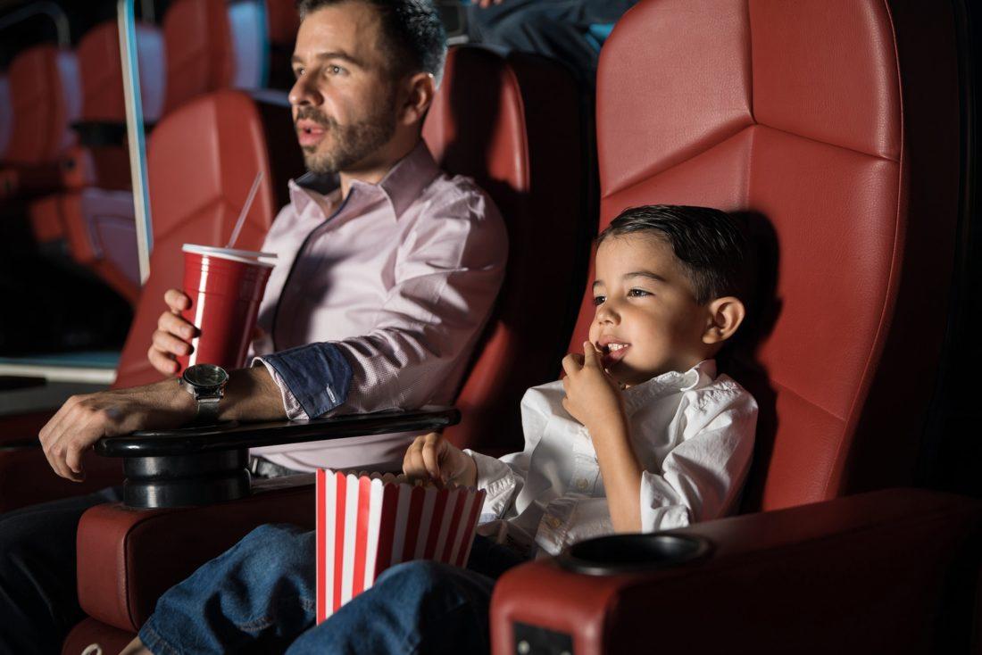 Wann dürfen Kinder in Kino