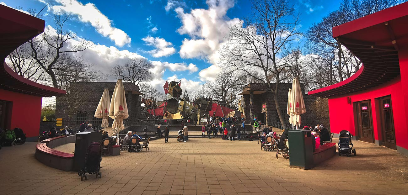 Kinderspielplatz im Zoo Leipzig