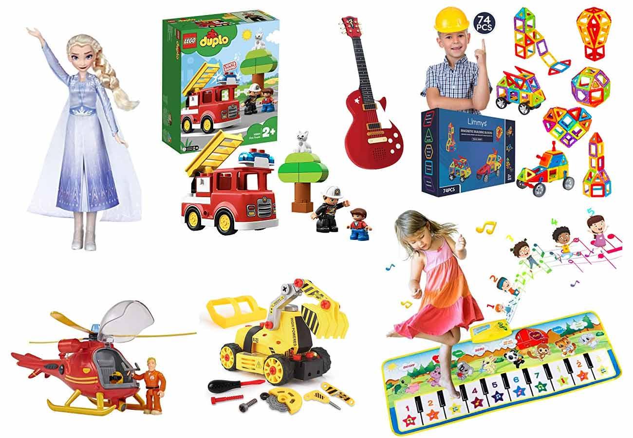 beliebtesten Spielsachen für Kinder ab 3 Jahren