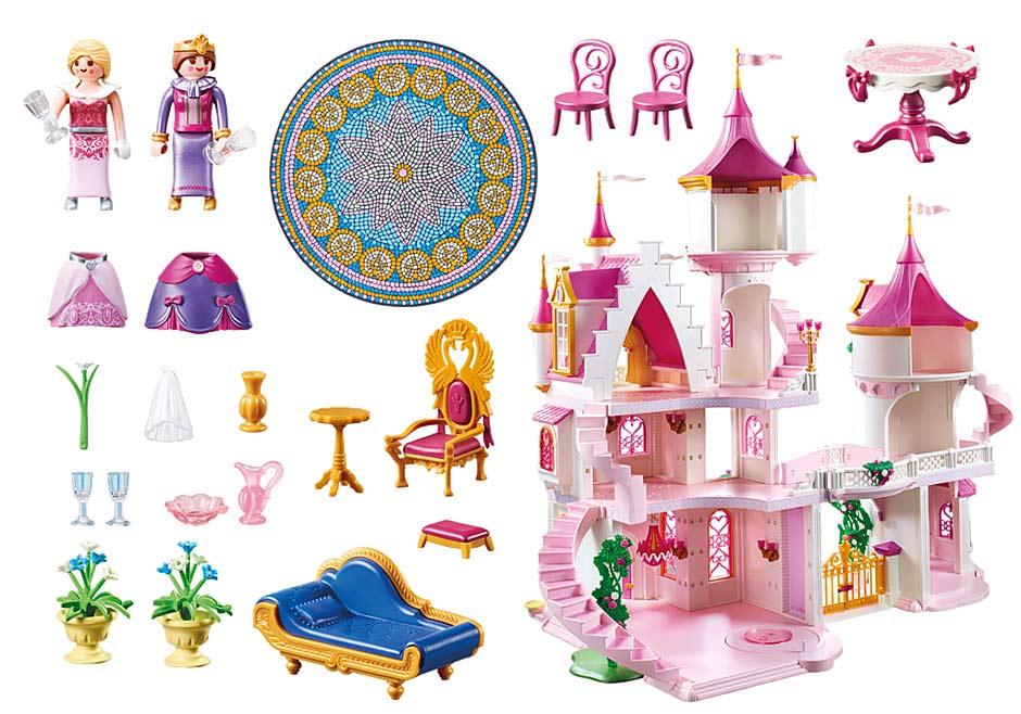 große Prinzessinnenschloss von PLAYMOBIL