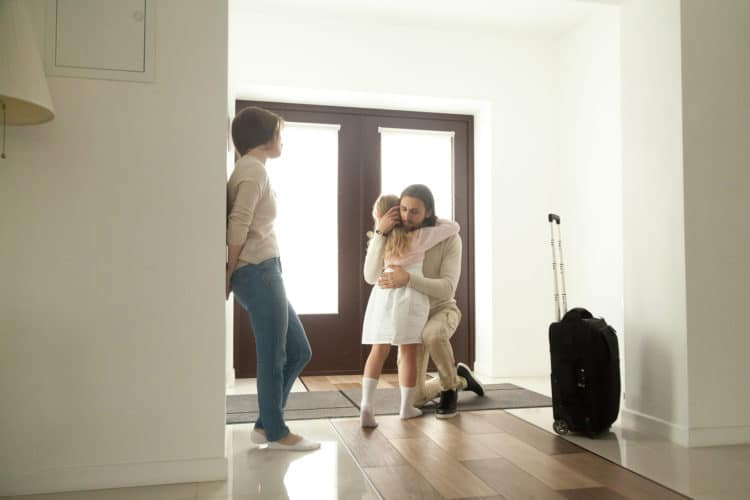 Trennung, wo bleibt das Kind, Copyright: fizkes bigstockphoto