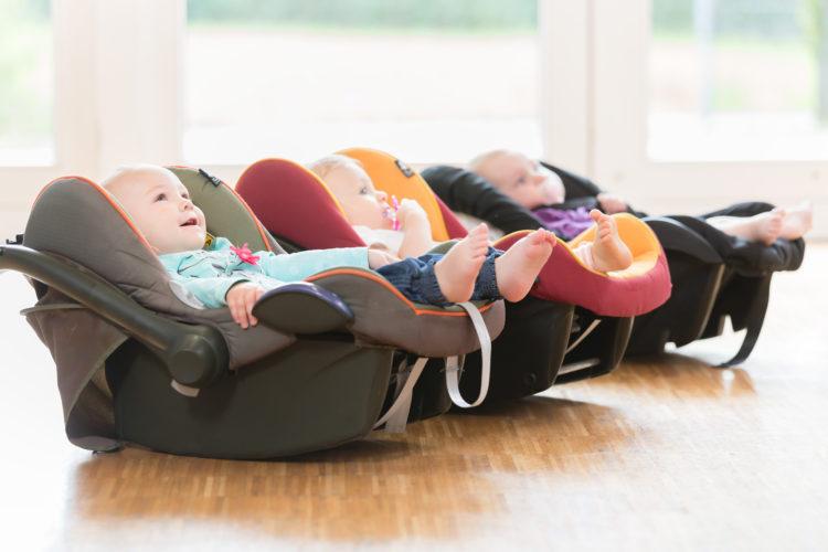Sitzverkleinerung für die Babyschale